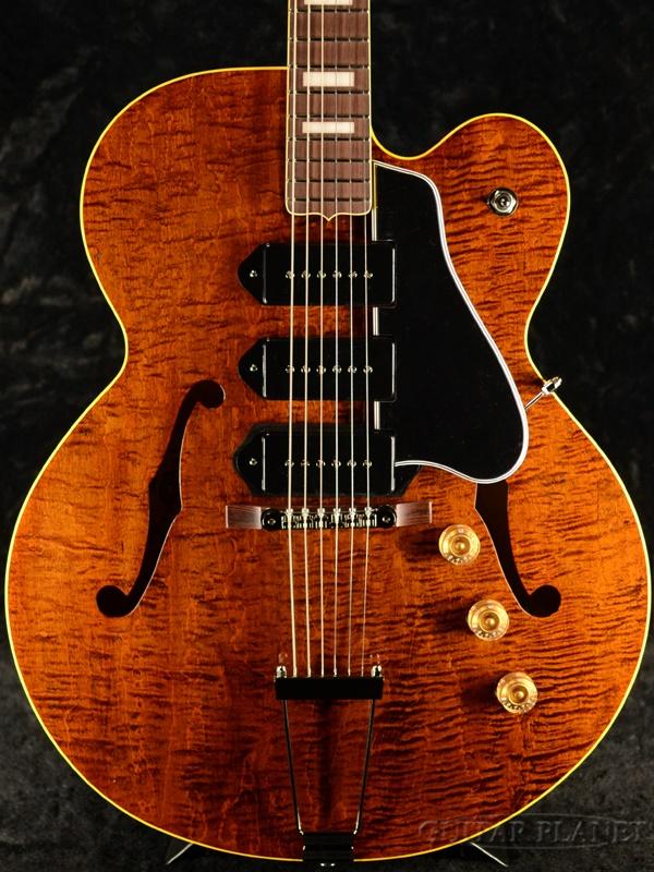 【2.93kg】King Snake Three Bone T -Dirty Walnut- 新品[キングスネーク][スリーボーン][Brown,ブラウン,ダーティウォルナット,茶][セミアコ/フルアコ][Electric Guitar,エレキギター]