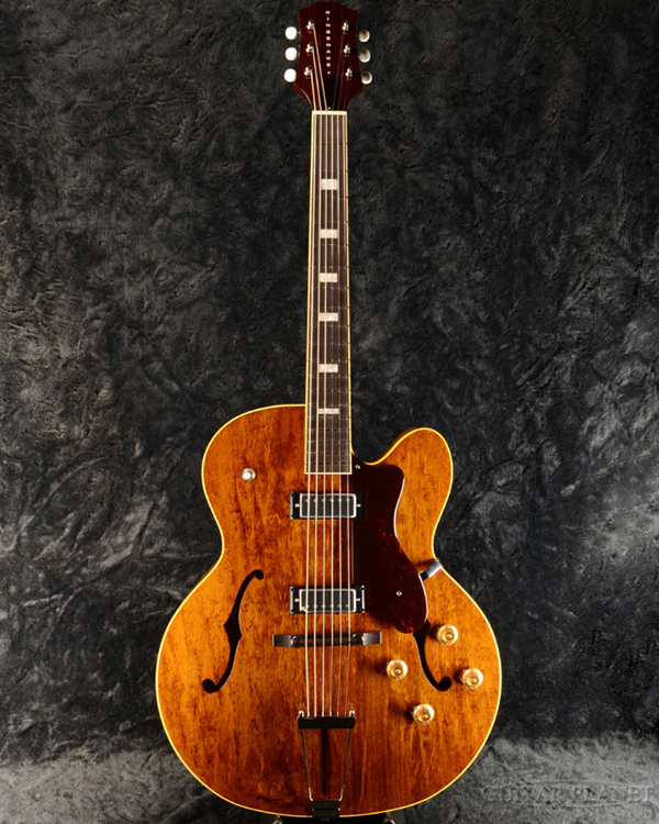 KING SNAKEDetroit One / Dirty Walnut 新品[キングスネーク][デトロイトワン][ダーティーウォルナット,Brown,ブラウン,茶][セミアコ/フルアコ][Electric Guitar,エレキギター]