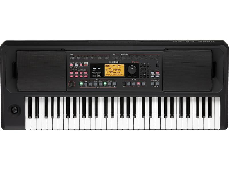 KORG EK-50 Limitless -Black- Keyboard 新品 キーボード[コルグ][スピーカー搭載][Black,ブラック,黒][EK50][Keyboard,電子ピアノ,キーボード]