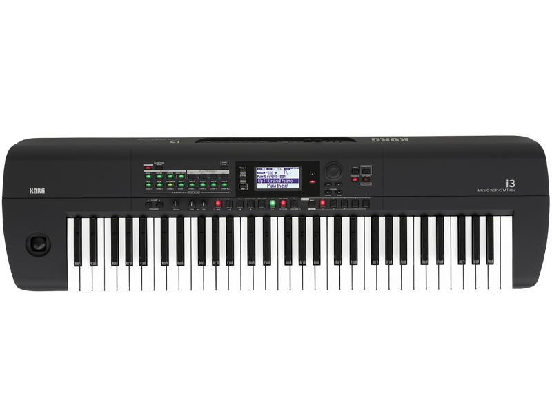 KORG i3 -MB (Super Matte Black)- Music Workstation 新品 ワークステーション[コルグ][Black,ブラック,黒][Keyboard,電子ピアノ,キーボード]