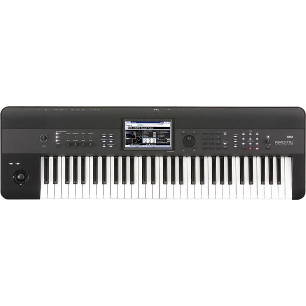 KORG KROME-61 新品 61鍵盤 シンセサイザー[コルグ][クローム][61Keys][電子ピアノ][Synthesizer,シンセサイザー][Keyboard,キーボード]