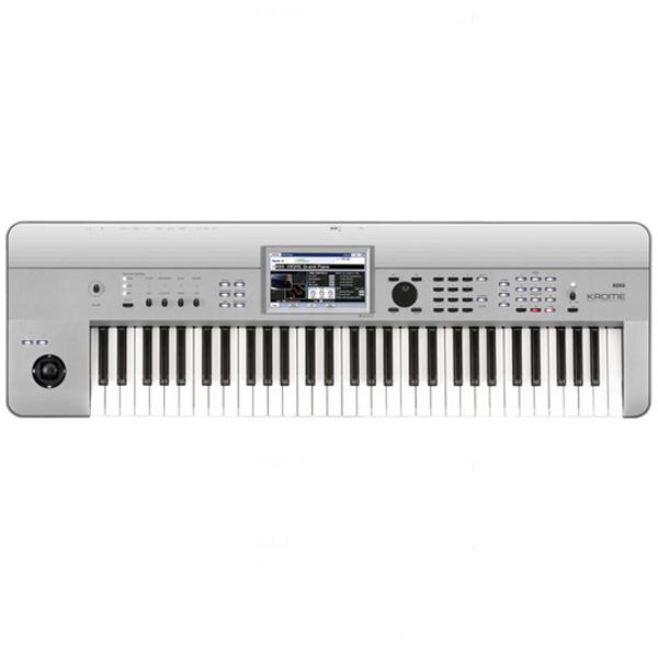 【数量限定カラー】KORG KROME-61 Platinum 新品 61鍵盤 シンセサイザー[コルグ][クローム][61Keys][プラチナム][電子ピアノ][Synthesizer,シンセサイザー][Keyboard,キーボード]