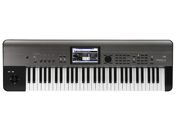 KORG KROME EX 新品 61鍵盤 シンセサイザー[コルグ][クローム][61Keys][電子ピアノ][Synthesizer,シンセサイザー][Keyboard,キーボード]