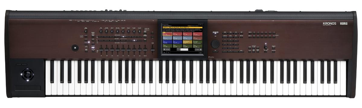 KORG KRONOS2-88LS Music Workstation 新品[コルグ][クロノス][Synthesizer,シンセサイザー][Keyboard,キーボード][88鍵盤]