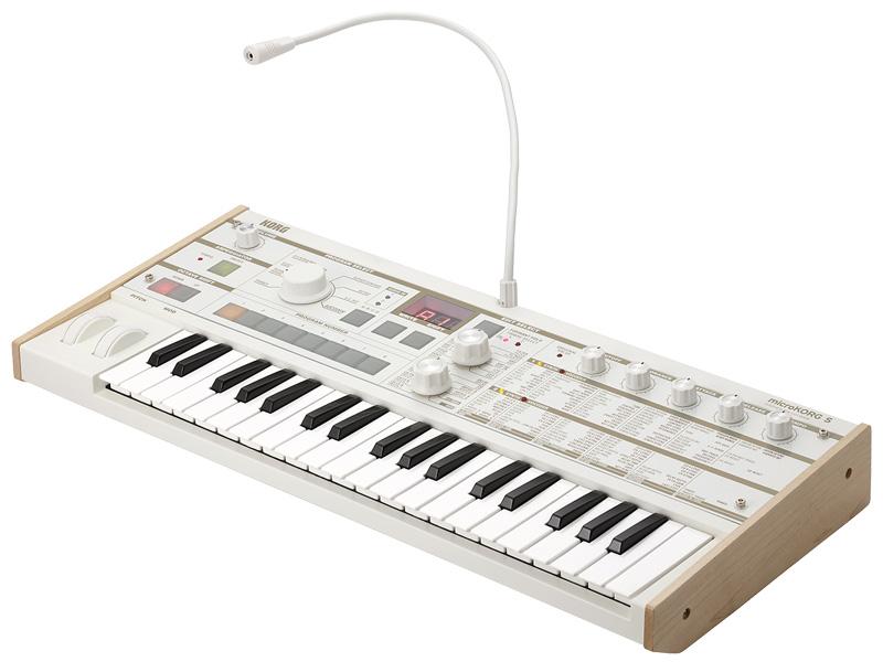 KORG microKORG S 新品 シンセサイザー/ボコーダー[コルグ][マイクロコルグ][Synthesizer][Vocoder][Keyboard,キーボード][動画]