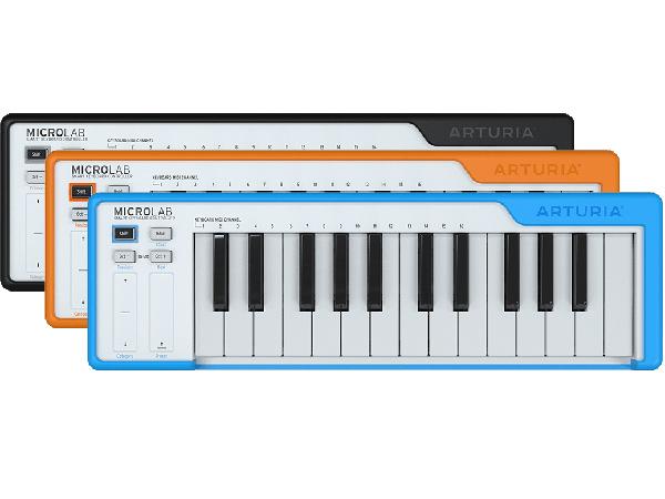 Arturia MicroLAB 25鍵盤 新品 MIDIコントローラー[アートリア][マイクロラボ][Keyboard,キーボード][Synthesizer,シンセサイザー]
