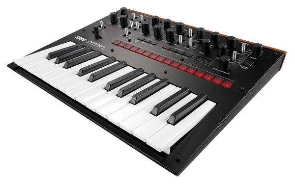 KORG monologue Monophonic Analogue Synthesizer 新品 ブラック[コルグ][モノフォニック,モノラル][モノローグ][Black,黒][アナログシンセサイザー][Keyboard,キーボード][動画]
