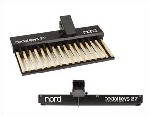 Clavia Nord Pedal Keys 27 新品 C2/C2D用ベース鍵盤[クラヴィア][ノード][MIDIペダルボード][Keyborad,キーボード]