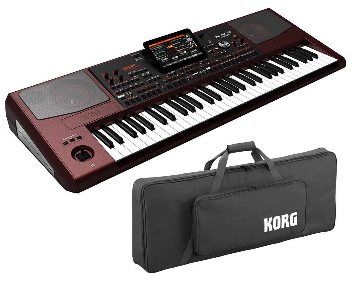 KORG Pa1000 《ケース付き!》 Professional Arranger 新品 アレンジャーキーボード[コルグ][61鍵盤][Keyboard,Piano,ピアノ][Pa-1000][SC-Pa600/900][動画]
