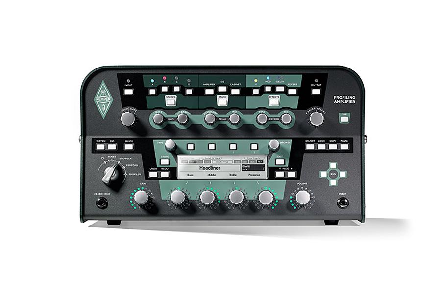 【パワーアンプ内蔵】Kemper Profiling Power Head Black 新品 プロファイリングアンプ[ケンパー][パワーヘッド][黒][Guitar Amplifier]
