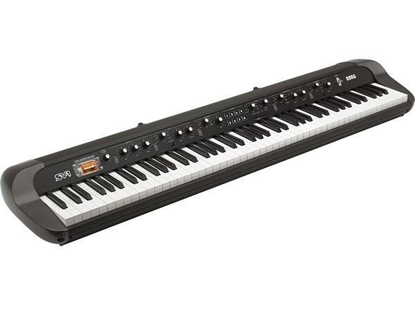 KORG SV-1 Black 88key Stage Vintage Piano 新品 ステージピアノ 真空管搭載[コルグ][SV1-88-BK][88鍵盤][ブラック,黒][Synthesizer,シンセサイザー]