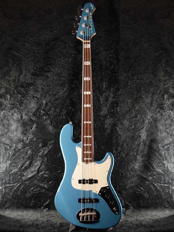 Lakland SL44-75 Darryl Jones Lake Placid Blue/R 新品[レイクランド][ダリル・ジョーンズ モデル][ジャズベース,Jazz Bass,JB][レイクプラシッドブルー,青][Electric Bass,エレキベース]