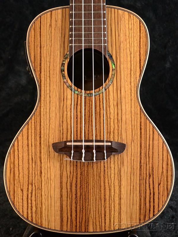 【ピックアップ搭載】Luna Guitars Uke High Tide Concert A/E - Zebrawood 新品 コンサートウクレレ[ルナ][ナチュラル][ゼブラウッド][Ukulele]