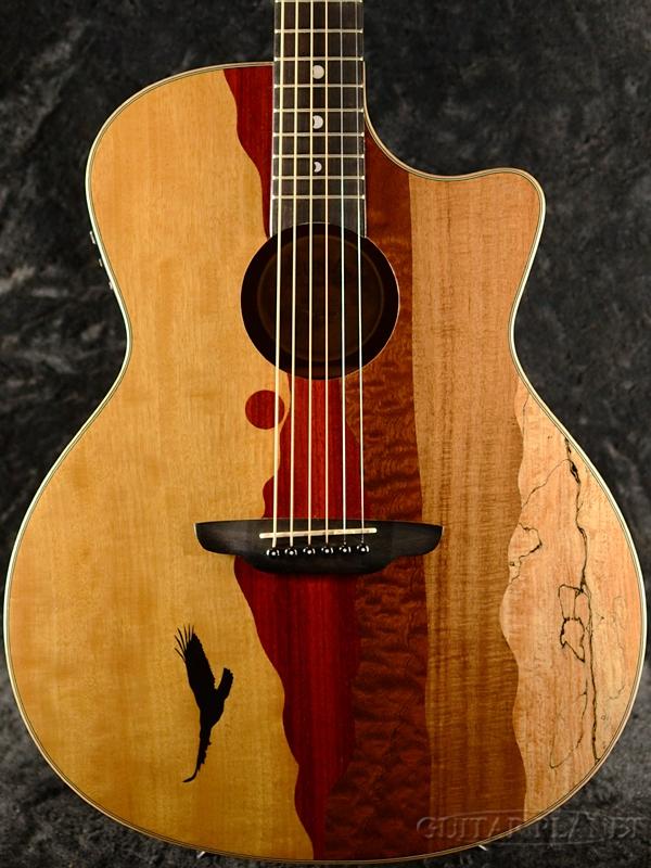 【キズ有特価!!】Luna Guitars Vista Eagle Tropical Wood A/E 新品[ルナ][イーグル][Acoustic Guitar,アコースティックギター,エレアコ]