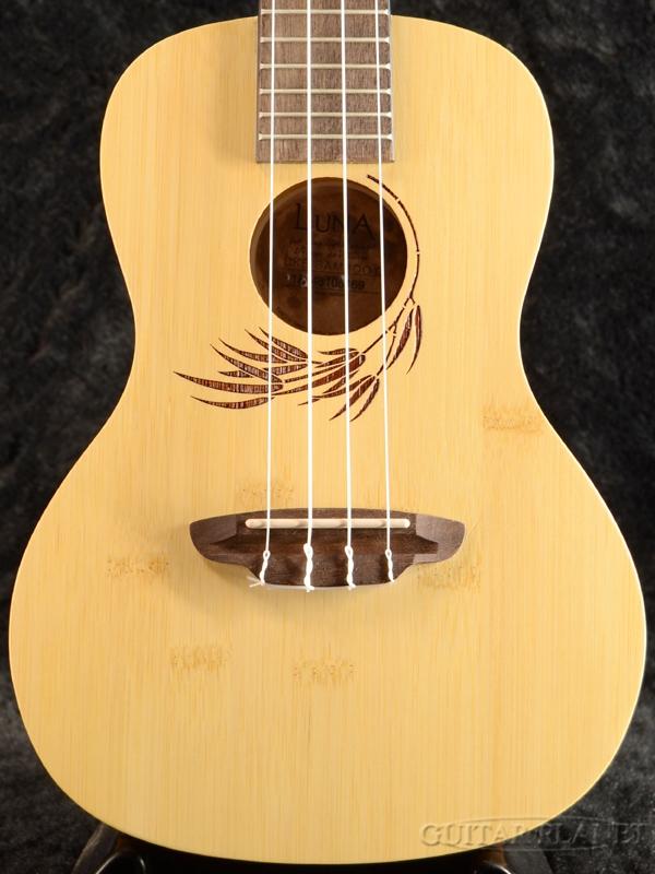 Luna Guitars Uke Bamboo Concert 新品 コンサートウクレレ[ルナ][竹,バンブー][Ukulele]