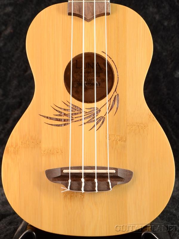 Luna Guitars Uke Bamboo Soprano 新品 ソプラノウクレレ[ルナ][竹,バンブー][Ukulele]