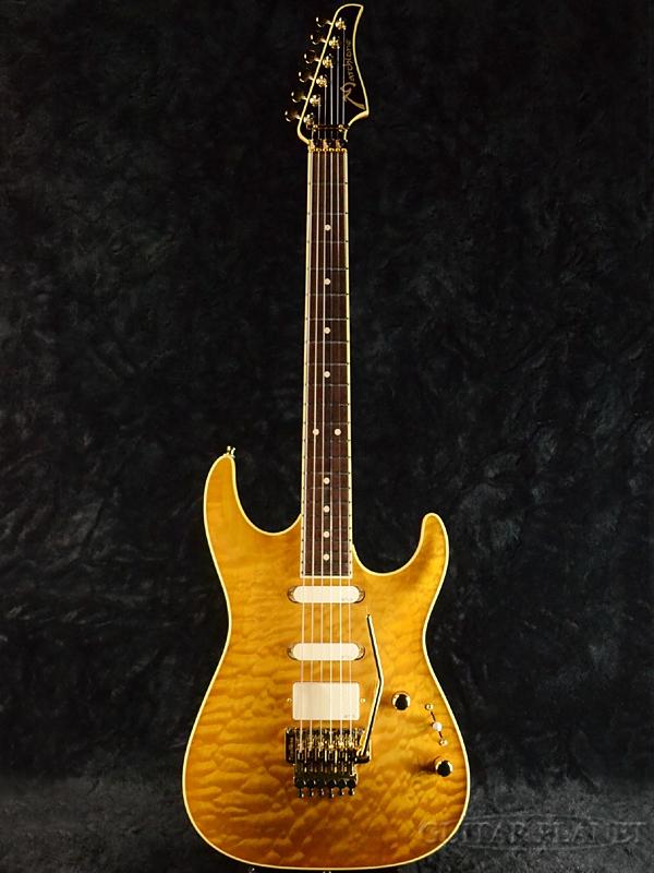 【当店カスタムオーダー品】Marchione MK-1 新品[マルキオーネ][Yellow,イエロー,黄][EMGピックアップ搭載][Stratocaster,ストラトキャスタータイプ][Electric Guitar,エレキギター][MK1]