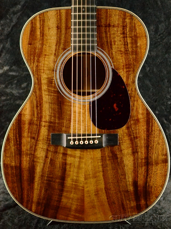 Martin ~Custom Shop~ OM-28 K2 ~Hand Selected Flamed Koa~ 新品[マーチン][コア][Natural,ナチュラル][Acoustic Guitar,アコースティックギター,Folk Guitar,フォークギター][OM28]