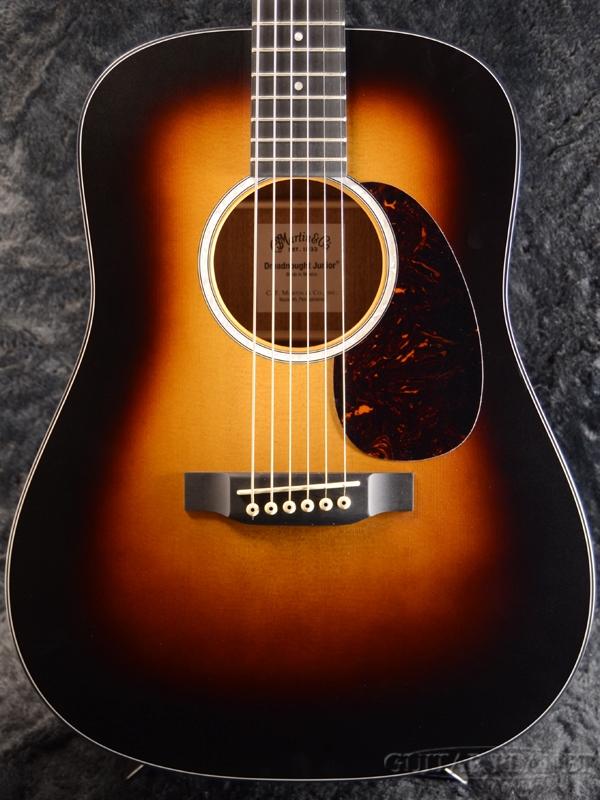 Martin Dreadnought Junior-10 Sunburst 新品[マーチン,マーティン][ドレッドノートジュニア][Jr][オール単板][サンバースト][Acoustic Guitar,アコースティックギター,アコギ,Folk Guitar,フォークギター]