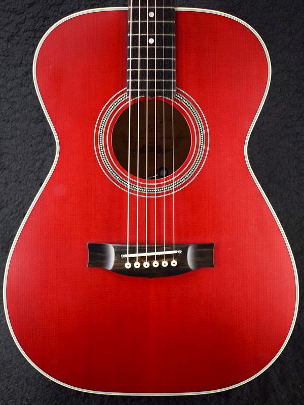 Maton Custom Color OrderEBG808 Queensland Maple ~60s Cherry~ #21465 新品[メイトン][チェリーレッド,赤][Electric Acoustic Guitar,アコギ,エレアコ,アコースティックギター][EBG-808]