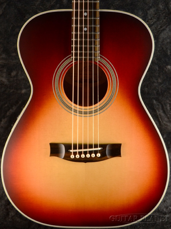 Maton Limited Edition EBG808 -Cherry Burst- 新品[メイトン][チェリーバースト,赤][Electric Acoustic Guitar,アコギ,エレアコ,アコースティックギター][EBG-808]