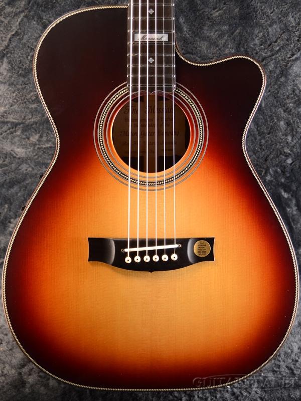 【Matonファクトリーツアー2018選定品!】Maton EM-100C 808 Messiah TSB【限定一本】 新品[メイトン][メサイア][Sunburst,サンバースト][Electric Acoustic Guitar,アコースティックギター,アコギ,エレアコ]