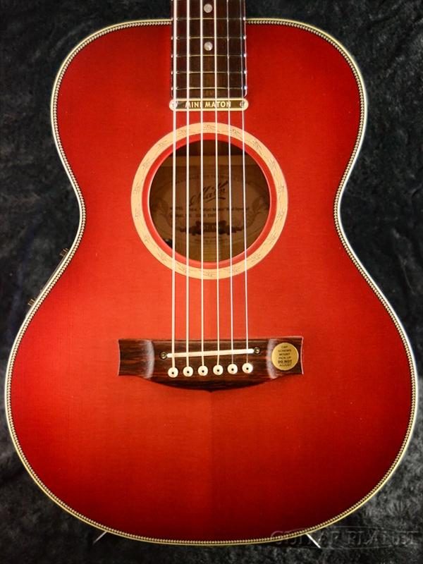 【サウンドメッセ2018出展モデル】【日本限定2本!】Maton EM6 -RED Special- 新品[メイトン][レッドスペシャル,赤][Electric Acoustic Guitar,アコギ,エレアコ,アコースティックギター]