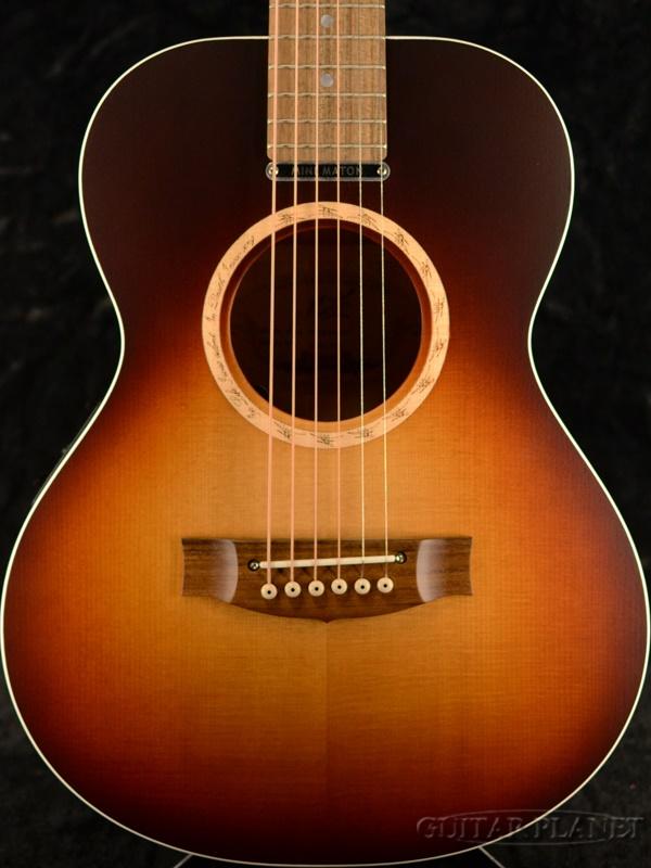 Maton ~2020 Limited Edition~EM6 Teardrop Tobacco Burst w/AP-5 Pro # 12937 新品[メイトン][ティアドロップタバコバースト,TTB][Electric Acoustic Guitar,アコギ,エレアコ,アコースティックギター][EM-6]