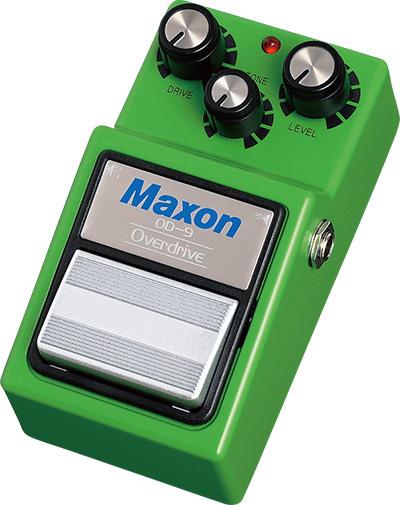 Maxon OD9 Overdrive 新品[マクソン][オーバードライブ][OD-9]_hzm