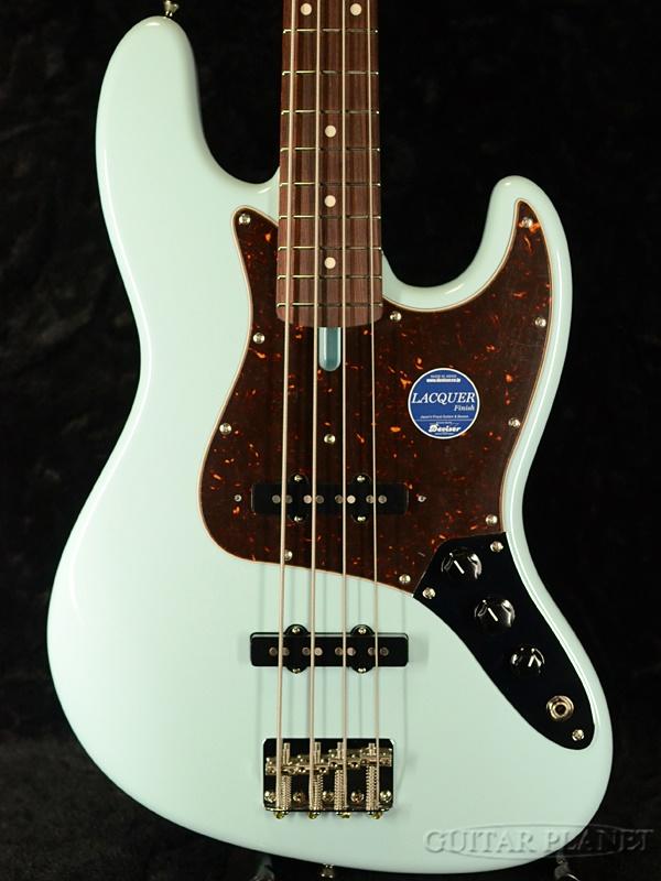 momose MJB1-STD/NJ-GP -Sonic Blue-【鼈甲ピックガード】新品 [モモセ][青,ソニックブルー][Jazz Bass,JB,ジャズベースタイプ][Electric Bass,エレキベース]