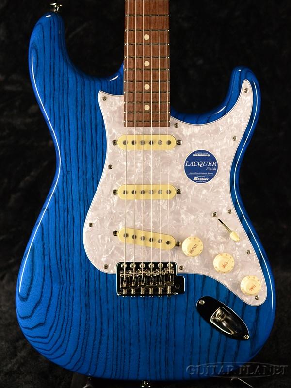 Momose MC2-STD/NJ STB 新品[モモセ,百瀬][国産][Blue,ブルー,青][Ash,アッシュ][Stratocaster,ストラトキャスタータイプ][Electric Guitar,エレキギター]