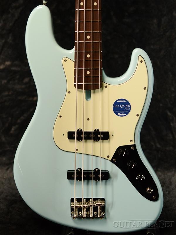 【限定オーダースペック】momose MJB1-STD/NJ-GP -Sonic Blue- 新品[モモセ,百瀬][国産][ソニックブルー,青][Jazz Bass,ジャズベース][Electric Bass,エレキベース]