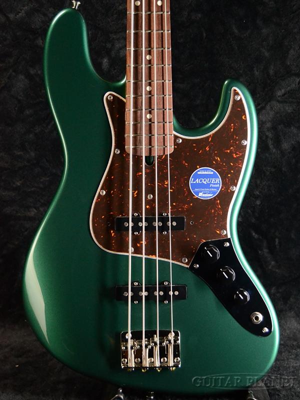 【限定特注カラー】【鼈甲ピックガード】Momose MJB1-STD/NJ -Sherwood Green- 新品[モモセ,百瀬][国産][Turbo Switch,ターボスイッチ][シャーウッドグリーン][Jazz Bass,ジャズベースタイプ][Electric Bass,エレキベース]