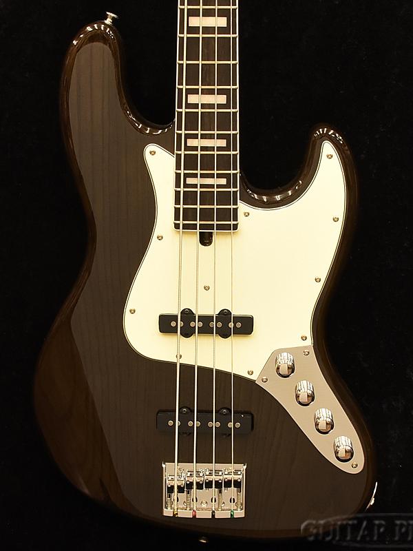 【7月限定大特価!!】Moon JB-4 Active -Transparet Black- 新品[ムーン][国産][ブラック,黒][Jazz Bass,JB,ジャズベースタイプ][Electric Bass,エレキベース]