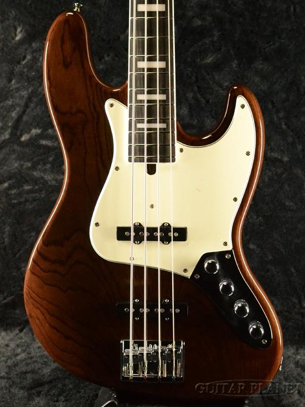 Moon JB-4 Active -Charcoal Gray- 新品[ムーン][国産][Brown,チャコールグレイ,ブラウン,茶][Jazz Bass,ジャズベースタイプ][Electric Bass,エレキベース]