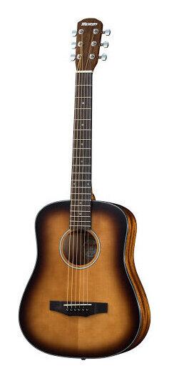 Morris LA-011 Tobacco Sunburst -Performers edition- 新品[モーリス][タバコサンバースト,TS][Acoustic Guitar,アコースティックギター,Folk Guitar,フォークギター,アコギ,ミニギター,トラベルギター][LA011]