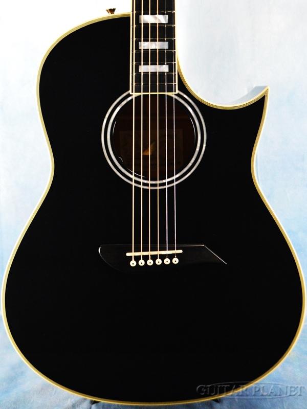 Morris Luthier Made Premium S-127GP ~Midnight Ocean~森中巧氏製作 新品[モーリス][国産][ブラック,黒][Acoustic Guitar,アコースティックギター,Folk Guitar,フォークギター,アコギ]