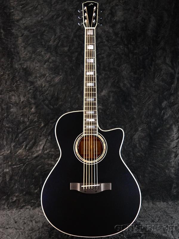 Morris Hand Made Premium Series R-15 Midnight Ocean 新品[モーリス][国産][ミッドナイトオーシャン][ピックアップ搭載][トップ単板][Electric Acoustic Guitar,アコースティックギター,アコギ,エレアコ]