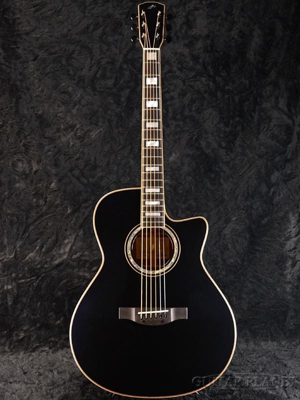 Morris Hand Made Premium Series R-18 Midnight Ocean 新品[モーリス][国産][ミッドナイトオーシャン][ピックアップ搭載][オール単板][Electric Acoustic Guitar,アコースティックギター,アコギ,エレアコ]