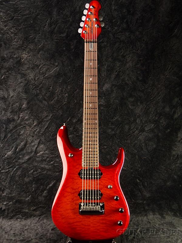 【新品特価】MusicMan JP7 BFR -Cherry Burst- 新品アウトレット[ミュージックマン][John Petrucci,ジョン・ペトルーシ][チェリーバースト][7弦][Electric Guitar,エレキギター]