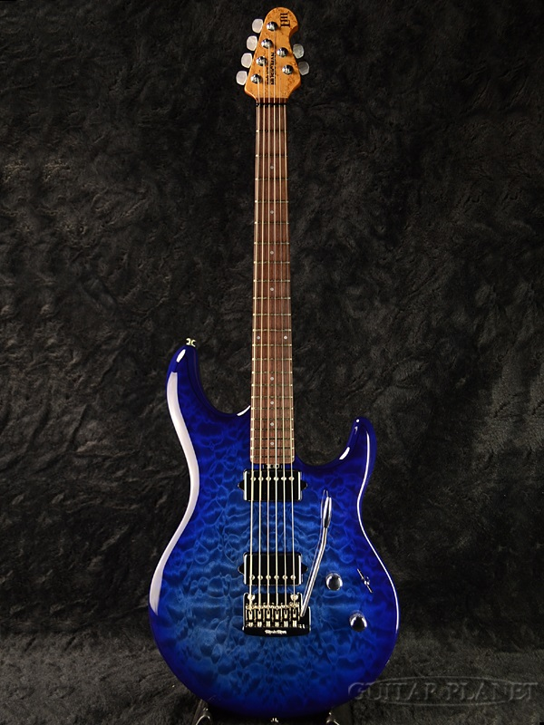 【特別訳あり特価】 MusicMan LIII BFR -Blueberry Burst- 新品[ミュージックマン][Steve Lukather,スティーブ・ルカサー][ブルーベリーバースト,青][Stratocaster,ストラトキャスタータイプ][Electric Guitar,エレキギター], キャンディーマジック 29944bb3