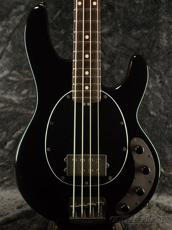 【18Vプリアンプ】MUSIC MAN StingRay Special -Jet Black / Ebony- 新品[ミュージックマン][スティングレイ][スペシャル][ブラック,黒][Electric Bass,エレキベース]