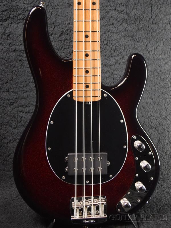 【18Vプリアンプ】MUSIC MAN StingRay Special -Burnt Apple / Roasted Maple- 新品[ミュージックマン][スティングレイ][スペシャル][Red,レッド,サンバースト][Electric Bass,エレキベース]