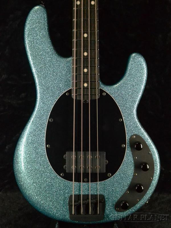 【18Vプリアンプ】MUSIC MAN StingRay Special -Aqua Sparkle / Ebony- 新品[ミュージックマン][スティングレイ][スペシャル][Blue,ブルー,青][Electric Bass,エレキベース]
