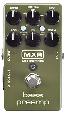 M81 新品 Preamp Bass MXR ベース用プリアンプ[ベースコーラスデラックス][Effector,エフェクター][M-81]_bass