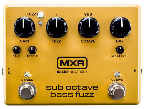 MXR M287 sub octave bass fuzz 新品 ベース用オクターブファズ[サブオクターブファズ][M-287][Effector,エフェクター]