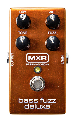 MXR M-84 Bass Fuzz Deluxe 新品[M84][ベースファズデラックス][Effector,エフェクター]_bass