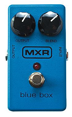 MXR Blue Box M-103 新品 ファズ[Fuzz][Octaver,オクターバー][エフェクター,Effector]_hzm