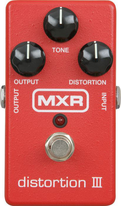 MXR distortion III M-115 新品[ディストーション][エフェクター,Effector][Ⅲ]_hzm