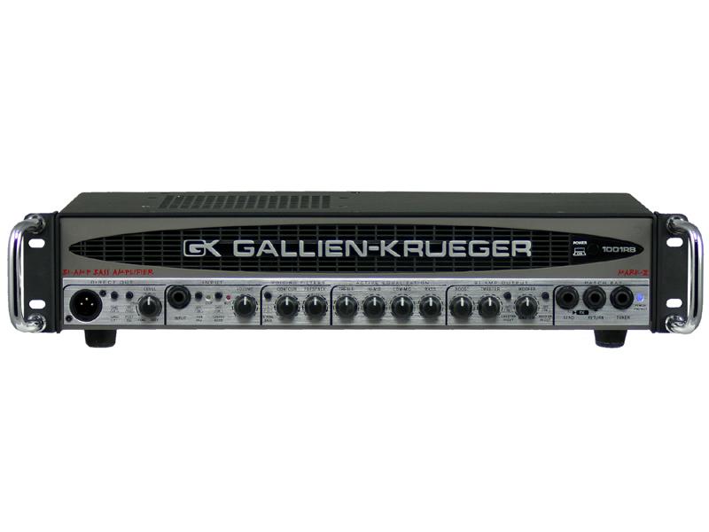 【700W】GALLIEN-KRUEGER 1001RB II 新品[ギャリエンクルーガー][RBシリーズ][Bass Amplifier Head,ベースアンプヘッド]